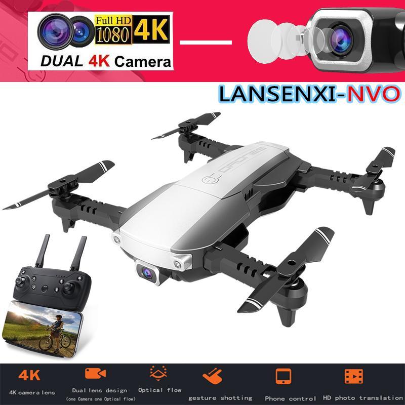 H3 / NVO Drone 4K con la macchina fotografica 1080P Quadcopter in tempo reale WIFI Trasmissione RC Helicopter Follow Me One-tasto invio Kid Toy Drones