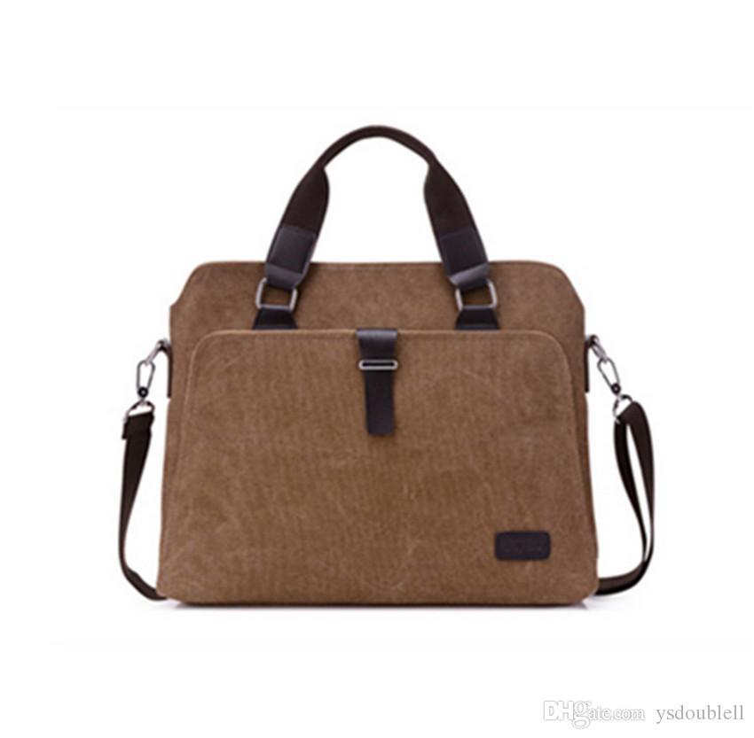 Мужская сумка Ранцевый деловая сумка Горизонтальные Мужская сумка Cross-Body Bag Компьютер Портфель