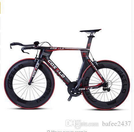 am modischsten Vorschau von innovatives Design Großhandel Ultraleichtes Vollcarbon Rennrad Fahrradfahrrad Wind TT Fahrrad  Rennrad Leichtgewicht Rennsport Aerodynamisches Fahrrad Von Bafee2437, ...