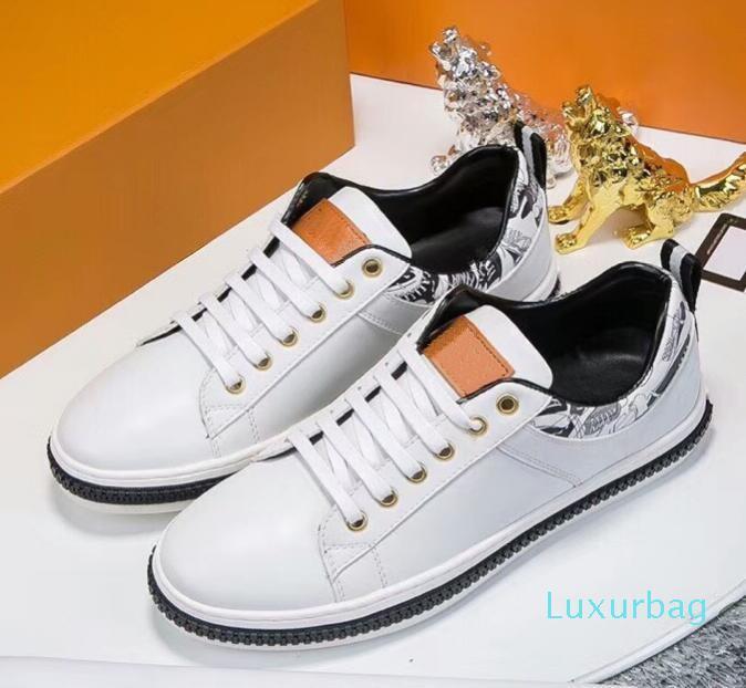 Mejor venta nueva tendencia de moda 2019 zapatos casuales de primavera de los hombres casuales de moda los zapatos transpirables 002casual 39-44 envío libre