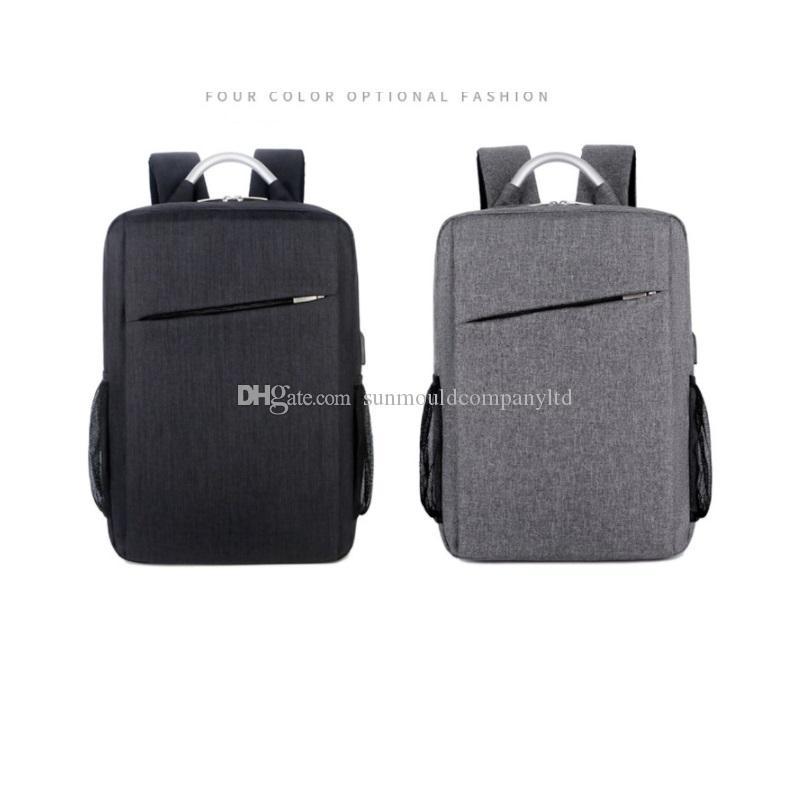 NUOVO marchio di qualità zaino da 15,6 pollici laptop zaino impermeabile borsa da viaggio donna uomo grande capacità marchio spalla affari Borse Mochila