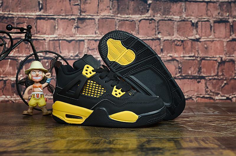 Acheter Nike Air Jordan 4 13 Retro Enfants Baskets Chaussures Garçons Filles 4 XIII Sneakers Jeunesse CADEAU Enfants Sports Basketball Sneakers