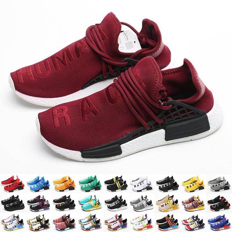 Pharrell Williams Human Race Races Gares NMDS Scarpe da ginnastica per uomo Humanrace Sports Shoes Mens Running Shoe Womens Hu Solar Pack Sneakers Donne da donna