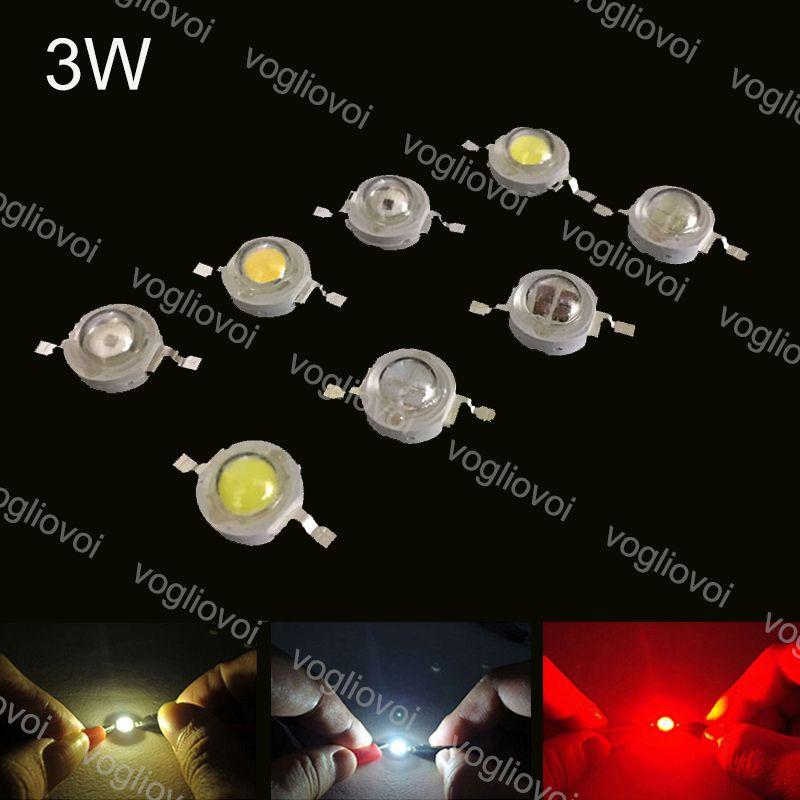Свет шариков наивысшей мощности 3W светодиодные лампы лампы Диоды Светодиоды Чип Освещение Аксессуары Теплый белый УФ для света пятна Downlight EUB