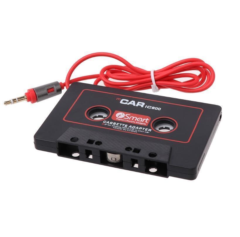 Telefon MP3 CD çalar Akıllı Telefon için kaset Aux Adaptörü Ses Araç Kaset Çalar Teyp Dönüştürücü 3.5mm Jack Fiş
