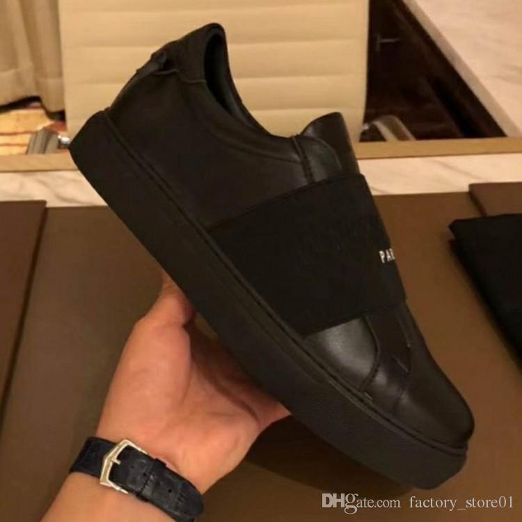Hommes Femmes Luxe Concepteurs causales chausse des espadrilles Paris Confort Cuir Fourreaux Party Dress Formateurs Chaussures Sneakers Chaussures avec la boîte
