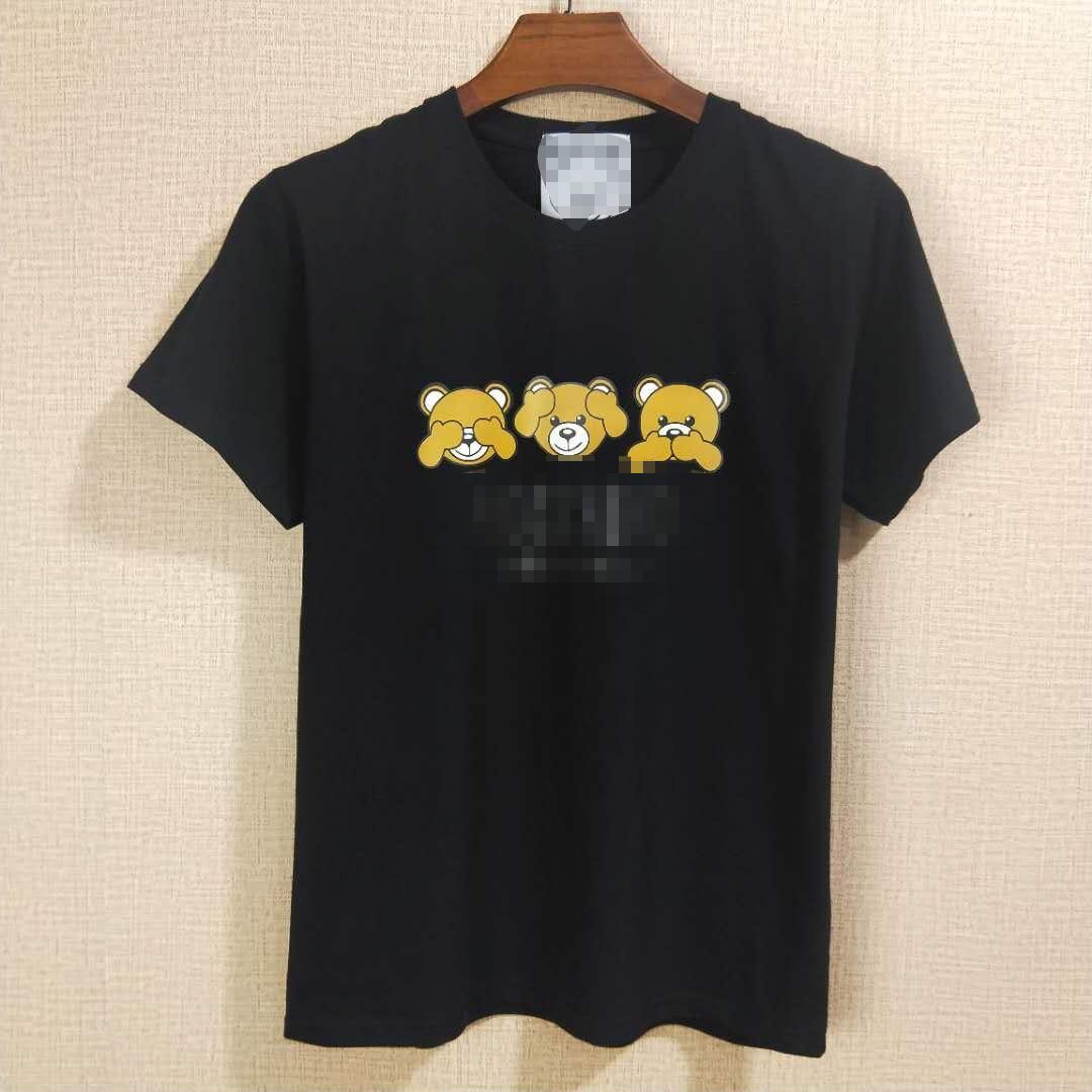 Luxe Hommes Marque Femmes T-shirts imprimés été Designered Mens T-shirt à manches courtes Casual Top T-shirts Hip Hop Hommes Streetwears M-XXL 2051102H