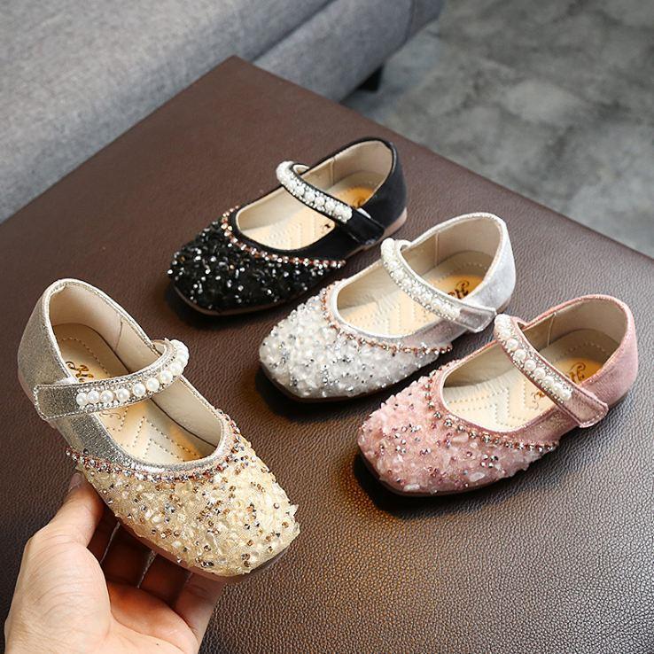 Princesa calçados para meninas fashion Little Kids sapatos casuais criança flexível, menina, andar Tênis confortável Primavera Outono Crianças Calçado