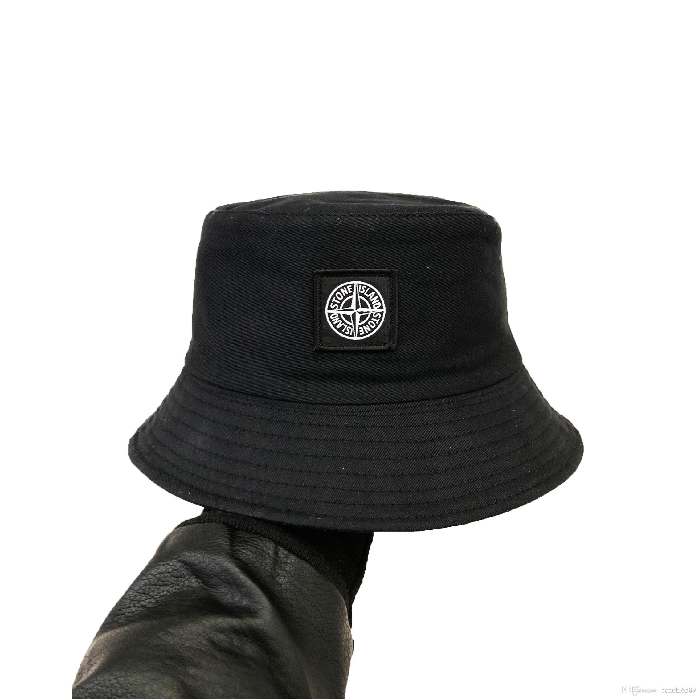 nouveau soleil hip hop chapeau de pêcheur broderie mode Camping chasse chapeau de pêche de plage en plein air les hommes avares Brim Chapeaux et femmes capeline chapeau Bucket