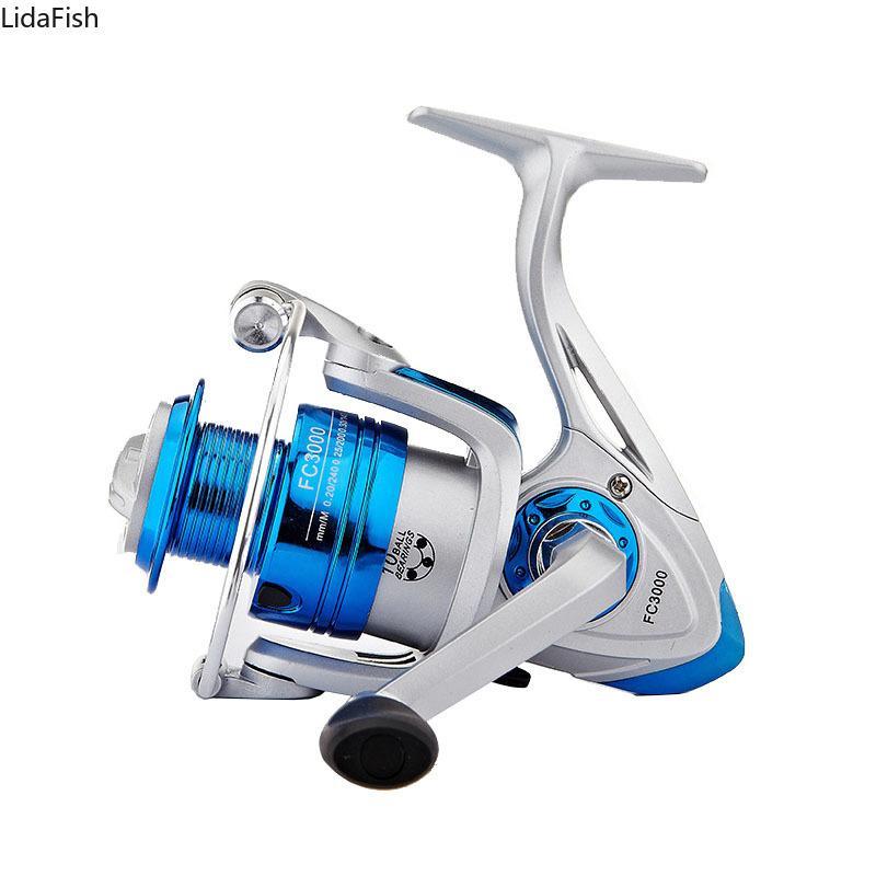 1000-6000 Series 5.2:1 Spinning Reel 10BB Ball Bearings Carp Fishing Reel Freshwater Saltwater Fishing