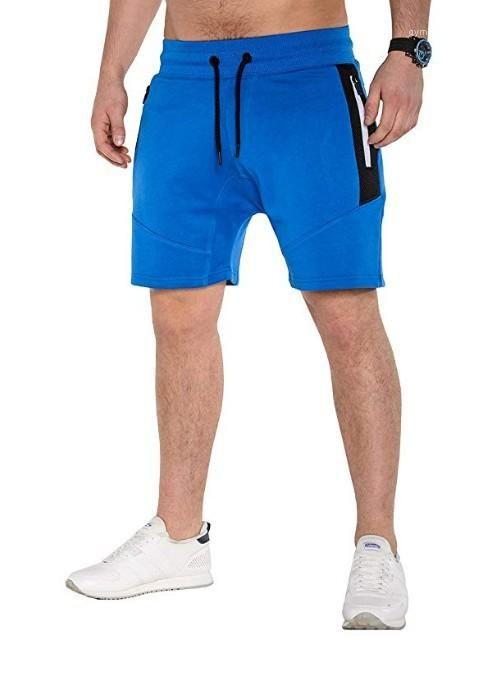 Shorts Solid Color Zipper Designer Taschen elastische Taillen-Halb Shorts Mens Sport Sommer