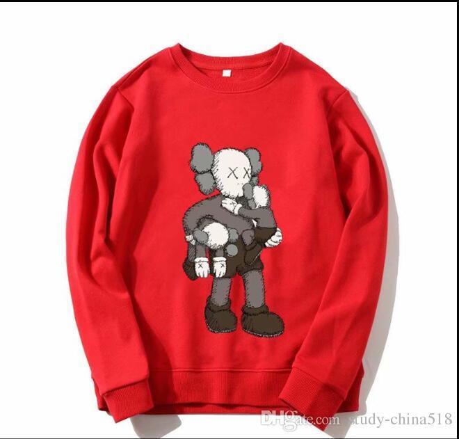 2019 Niños otoño camisa clásica niños y niñas sudaderas con capucha / chaqueta deportiva letras grandes suéter de invierno chaqueta bebé S2
