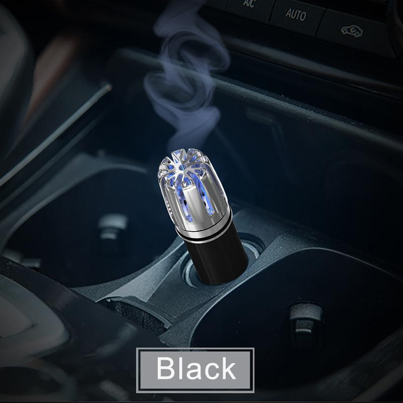 Available in Gold and Silver-Auto Car Fresh Air Ionic Purifier Car Ionizer