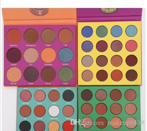 2019 diretto fabbrica professionale di trucco 12 di colore giallo di modo delle donne Eye Shadow Palette trucco Matte Eyeshadow Palette