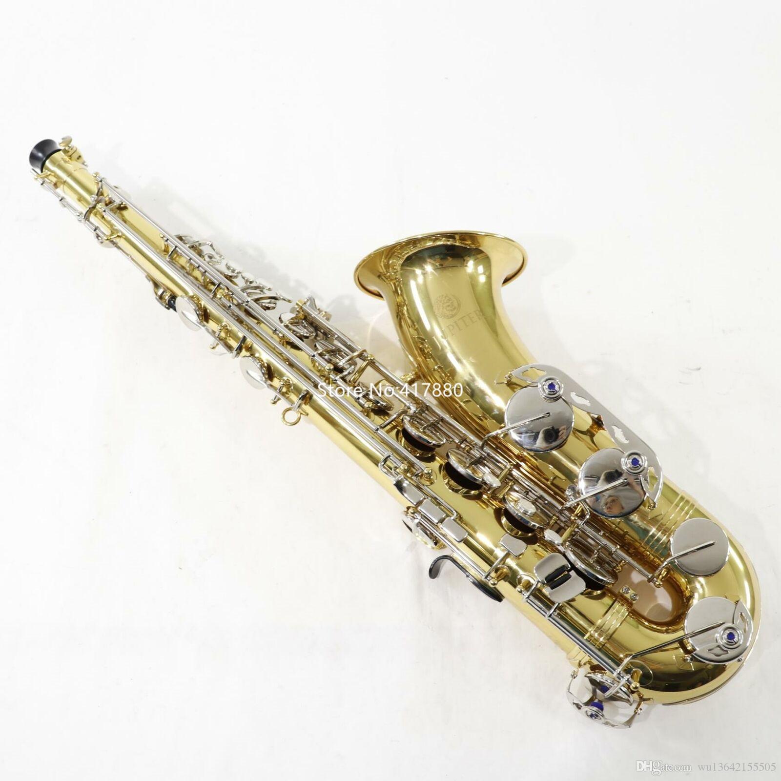 Popolare Jupiter Bb Tune Modello JTS710GNA Student Sassofono Tenore Ottone Glod musicale caso con professionale