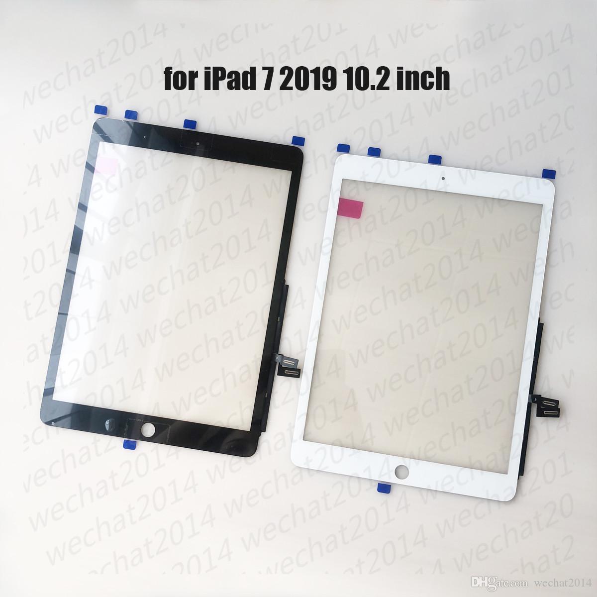 20PCS de la pantalla táctil del panel de cristal con digitalizador para iPad 7 2019 7 de A2197 A2200 A2198 libre de DHL