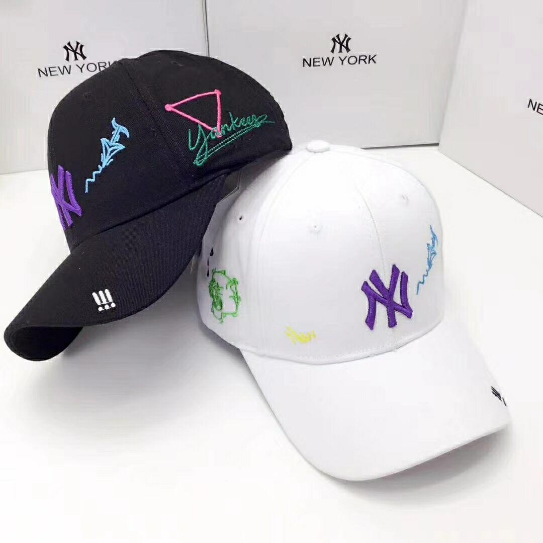 2020 heiße heiße Art neue NY Baseballmütze, Modetrend, die schönste Sommer-Baseballmütze, Stern mit Geld, zu Hause frei Beutelpost