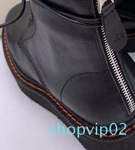 Designer- 뾰족한 발가락 편지 높은 뒤꿈치 신발 여성 패션 활주로 긴 부츠 rx19081904