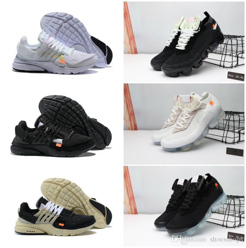 High Quality 2019 New Original Presto V2 Ultra BR TP QS Black X Running Shoes Cheap Air Sports Women Men Prestos Chaussures White Sneakers