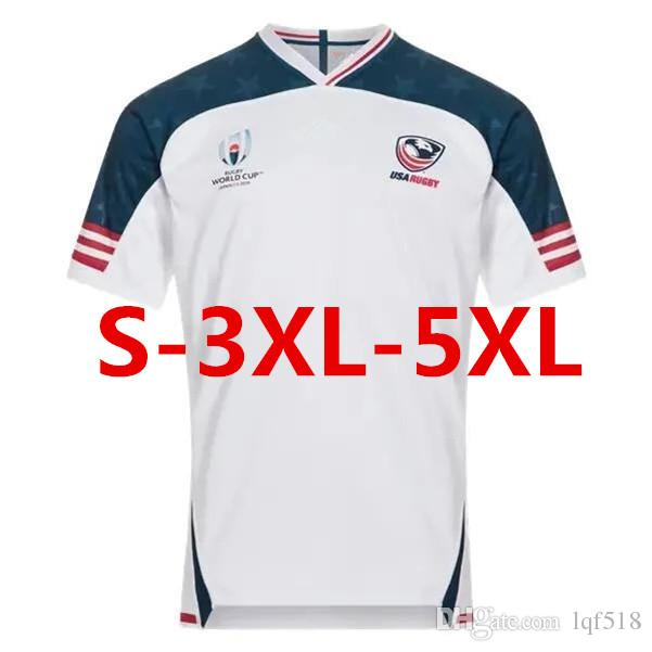 USA RUGBY RWC 2019 HOME JERSEY size S--3XL--5XL Top quality Free shipping