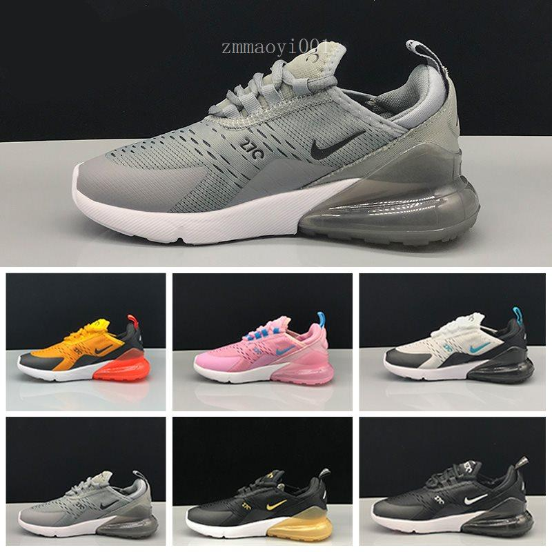 High Quality 2019 Infant Air Kids running shoes pink White Dusty Cactus 27c outdoor toddler athletic sports boy & girl Children sneakers LS6