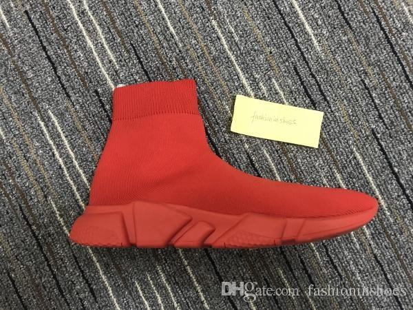 Botas de zapatillas de zapatillas de sock de la velocidad de los hombres de las zapatillas de zapatillas de slip-on slip de la velocidad de la velocidad de la velocidad de la velocidad de las mujeres al aire libre Casual Piss zapatos 35-45