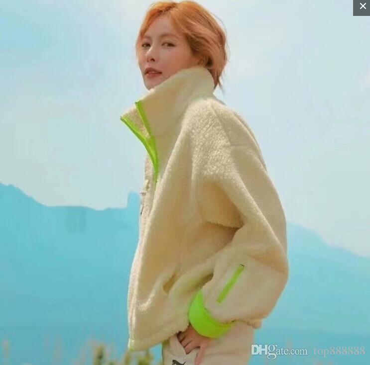 Loose Women agneau molletonnée en coton pull en cachemire marque de sport Cool Fashion SIN dame lettre hiver veste velours chaud épais pull-over