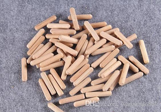 1000 pcs Frete Grátis grande número de qualidade local de sarja reta de madeira passador de madeira passador pino de madeira especificações completas