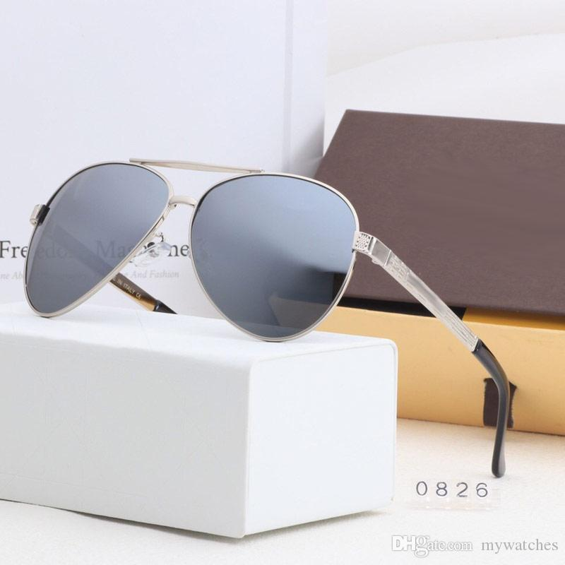 High quality men's women sunglasses Polarized pilot eyewear Outdoor cycling sun glasses for ladies mens best Valentine Gift
