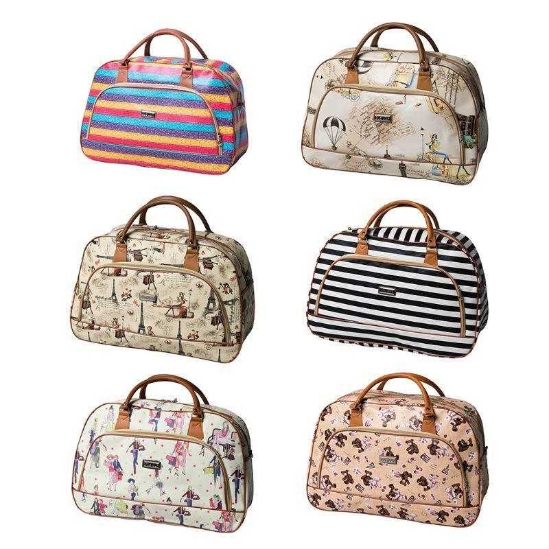 2019 Fashion Travel Bag Zipper Pu Leather Travel Bag Women Weekender Storage Carry On Travel Fashion Brand Design T191219