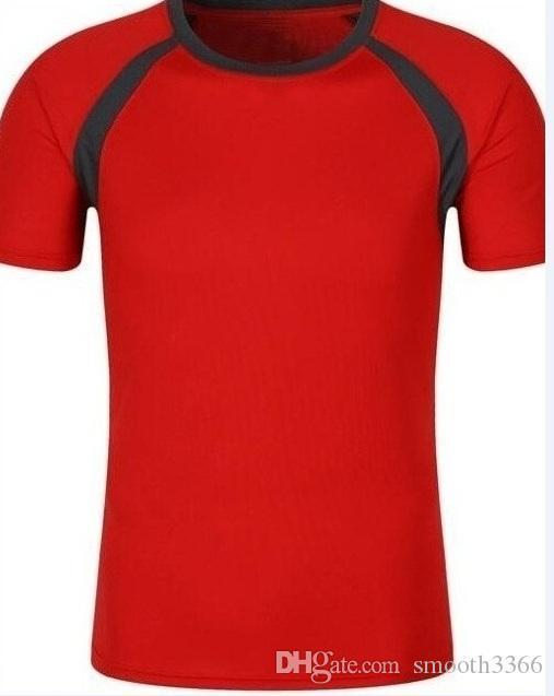 roupas apertadas 1087 dos homens que funcionam T-shirt de secagem rápida de manga curta