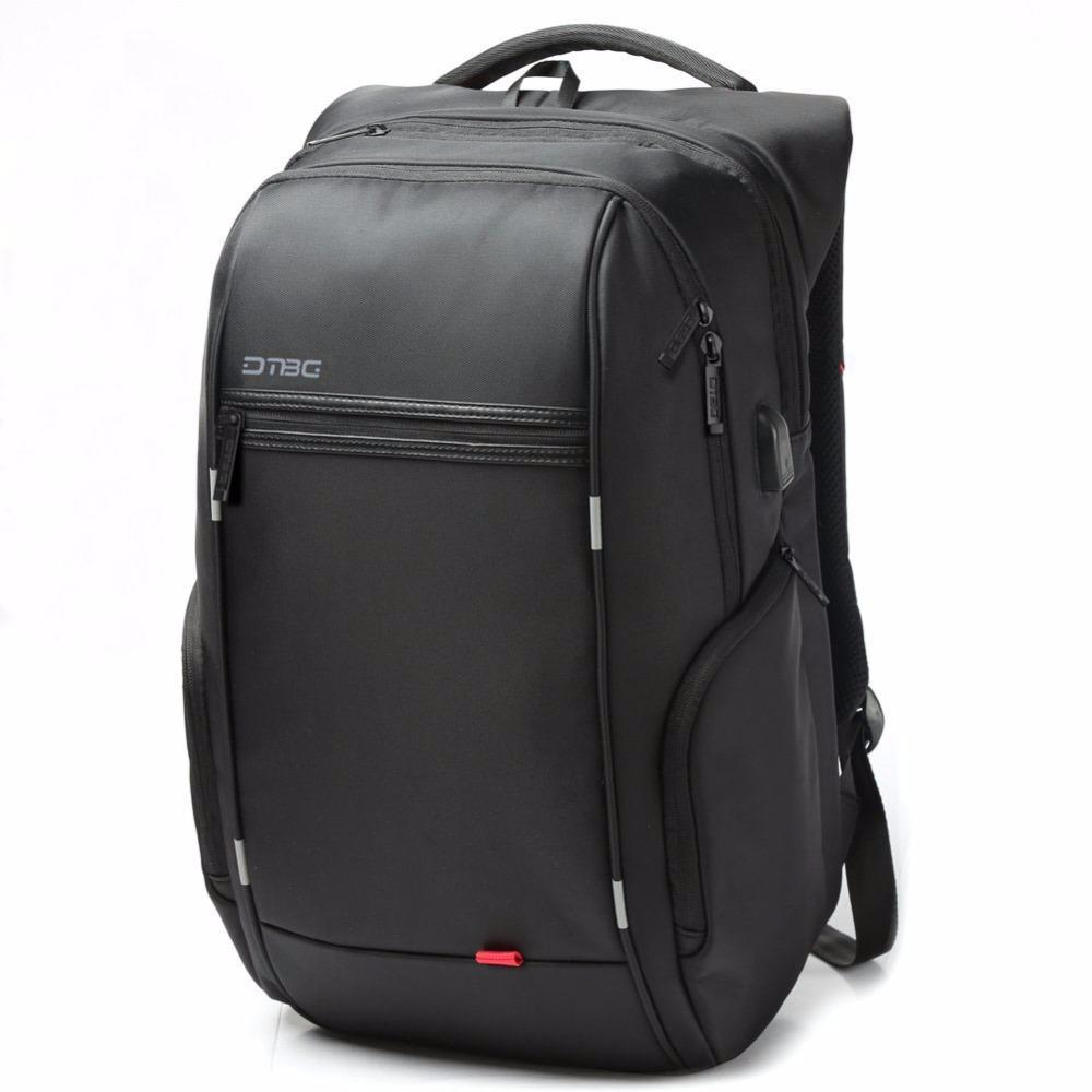Men Male Backpack 15.6 inch Laptop Backpack USB Charging Casual Style Waterproof Bag Men Women Anti Thief Multifunction