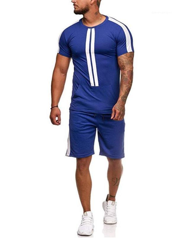 Vêtements pour hommes Ensembles d'été Survêtements de sport T-shirts Shorts Ensembles Costumes Casual Designer
