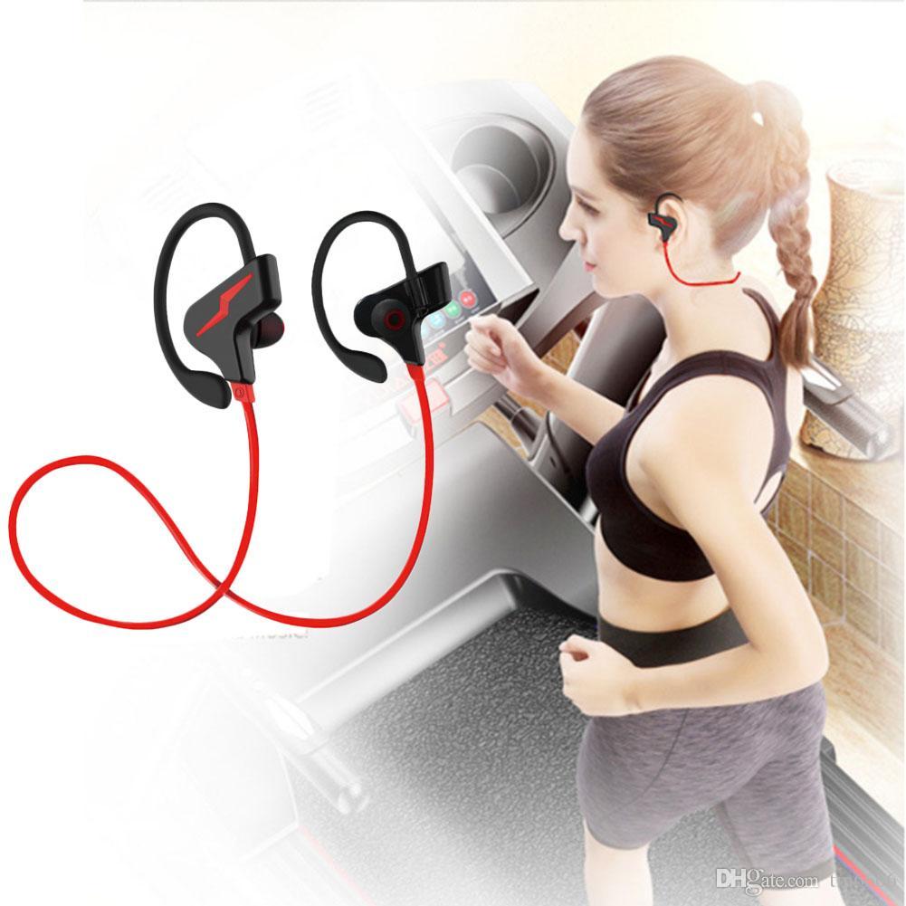 S30 Bluetooth наушники, Лучшие беспроводные наушники IPX7 водонепроницаемый спортивные наушники ж / микрофон HD стерео Sweatproof наушники-вкладыши