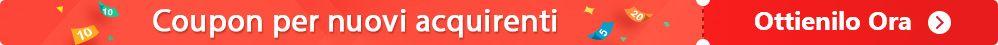 Coupon per nuovi acquirenti e codice di promozione