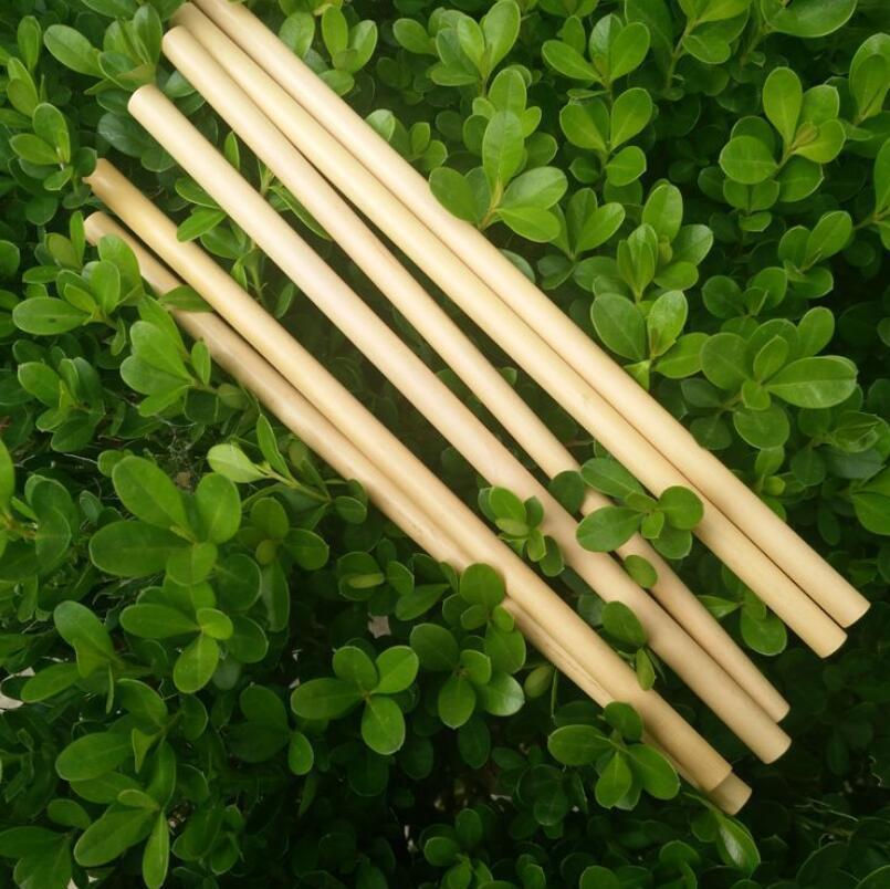 Натуральный бамбук трубочки сок Вода Пиво Стро многоразовый Экологию Tubularis для партии День рождения Свадьба LX4371