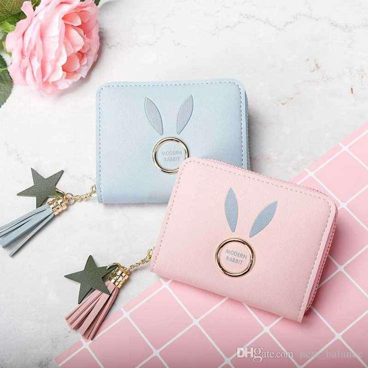 womans Small Walet Pocket womens Vintage purses mini Short Card Holder High Quality Card Holder Free Shipping