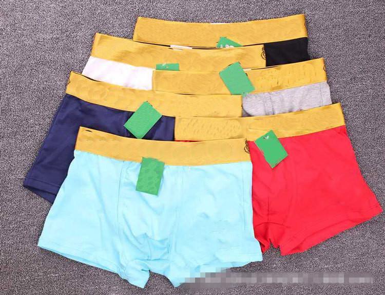 Tiger Head Phnom Penh coton Caleçon coton ultra discret doux Sexy Homme Shorts d'homme Boxer Livraison gratuite Men