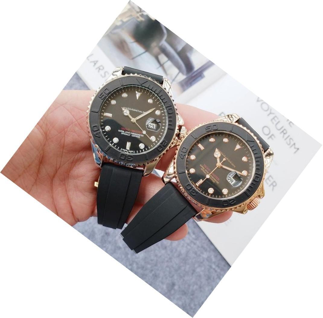 Hediye Erkekler Kadınlar Çift Altın Silikon Saatler Kuvars İzle Analog Su geçirmez Spor Ordusu Askeri kol saati İyi Erkek Hediye relógio de luxo
