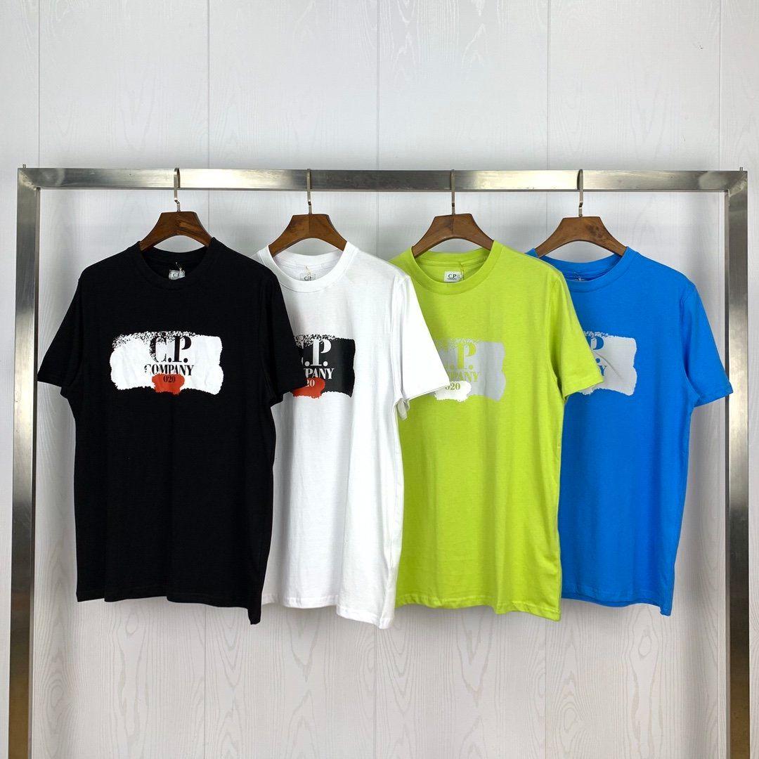 Diseñador CP camiseta Marca hombre T Shirt Company diseñador camiseta Hombres Mujeres CP traje de lujo Tees CP abrigos de primavera y verano Pullover 20040208L