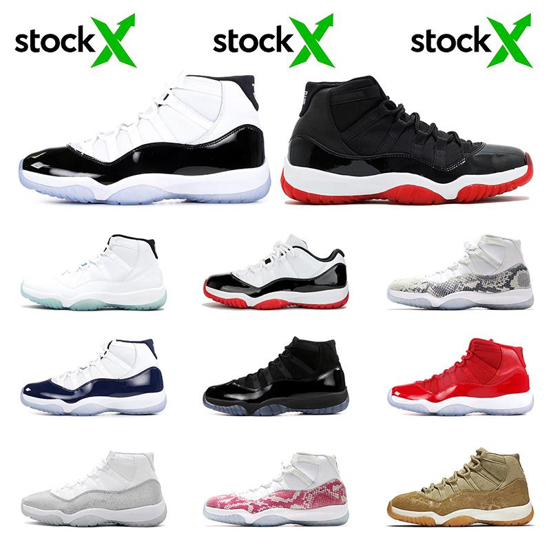 Top Low High White Concord Bred 11s 11