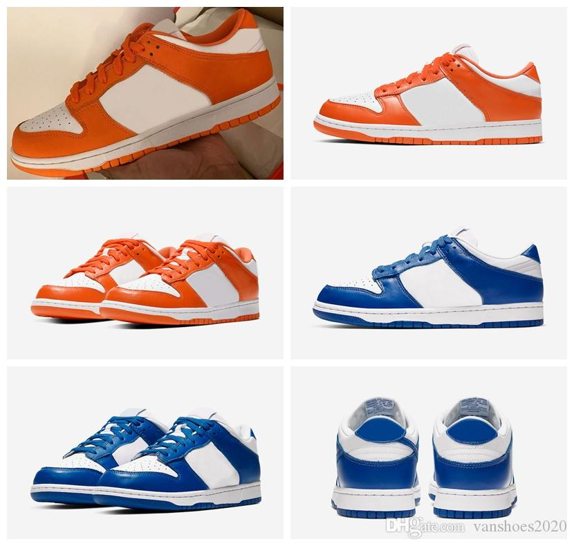 New Release Dunk Low Syracuse Kentucky 2020 Trainers Sneakers Dunks 35th OG Blaze Varsity Royal Sports Running Shoes us 5.5-10 CU1726-100