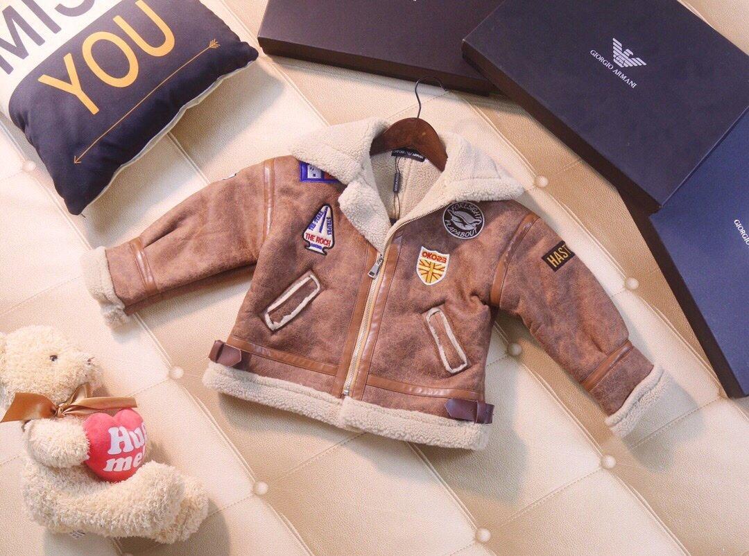 Boy Outono jaqueta e inverno novos meninos moda casual jaqueta crianças roupas WSJ038 # 121917