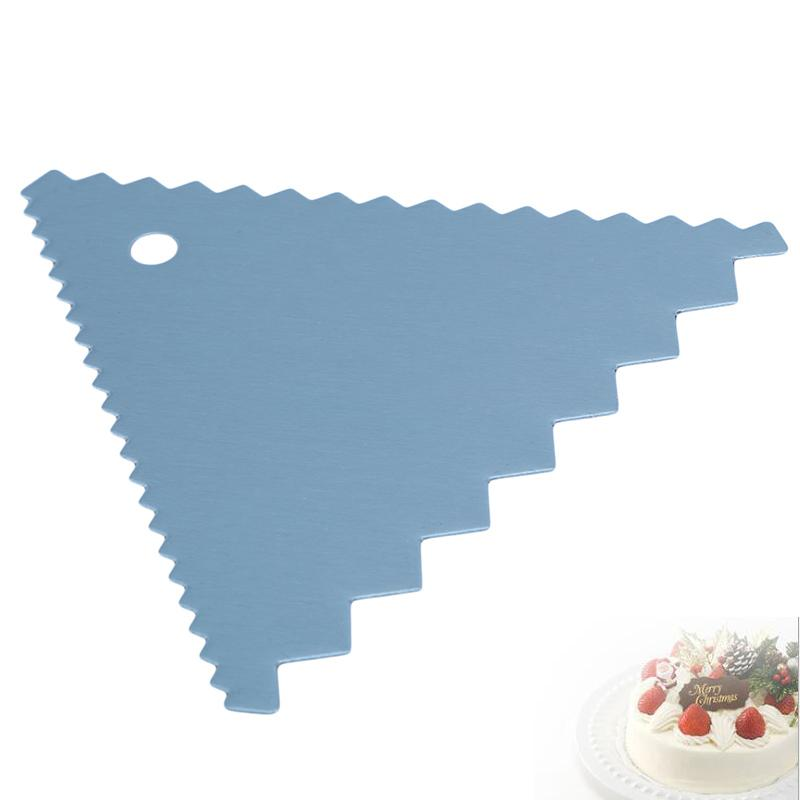 Stainless Steel Cake Cream Scraper Baking Spatulas Baking Pastry Spatulas Butter Dough Cutter Decorating Tool Bakeware