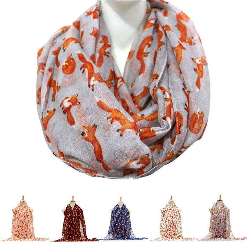 Art und Weise Frauen-Voile 4 Jahreszeiten Netter kleiner Druck-Schal-Verpackung Super Soft