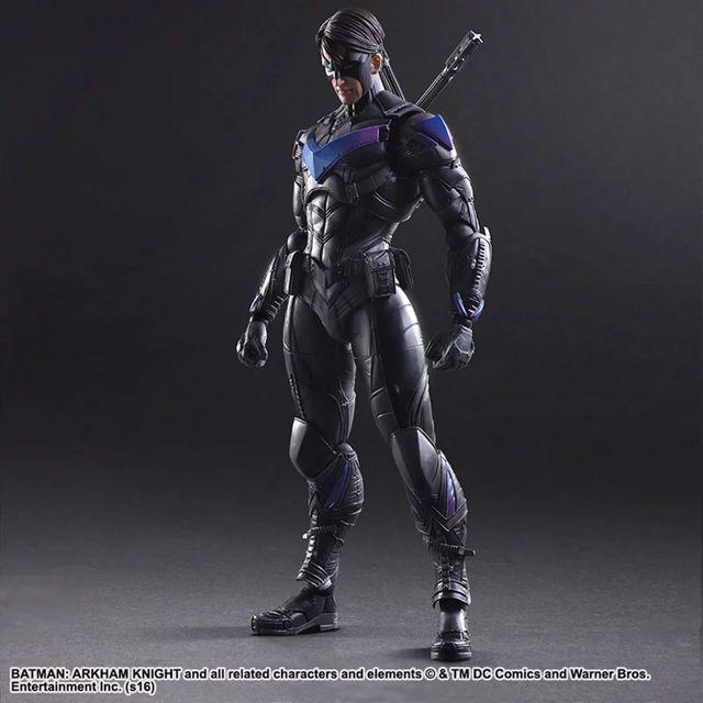 Compre Juega Artes Kai Batman Arkham Figura De Acción Knight Nightwing Dick Grayson También Conocido Como Robin Superheo Modelo De Juguete A 34 83 Del Gadgetsparadise Es Dhgate Com