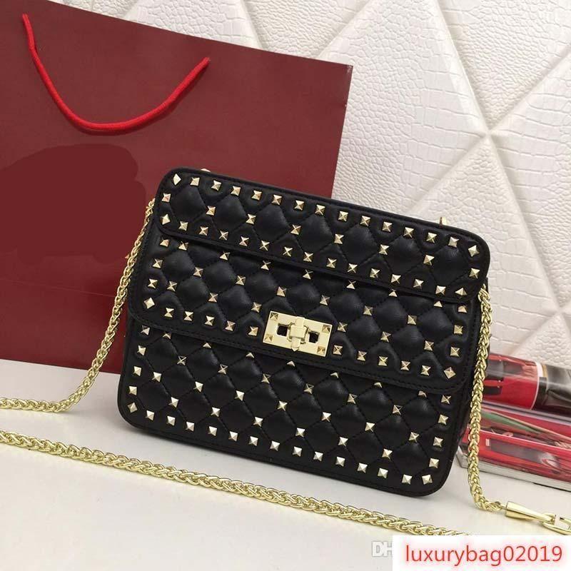 designer handbags Rivet designer bags high quality Volenty genuine leather purse bag fashion totes women handbag