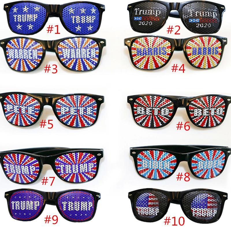 Cолнцезащитные очки Дональд Трамп 2020 Очки Письмо печати Спорт Мода очки Открытого Путешествие Бич ВС мода очки Америка Отлично