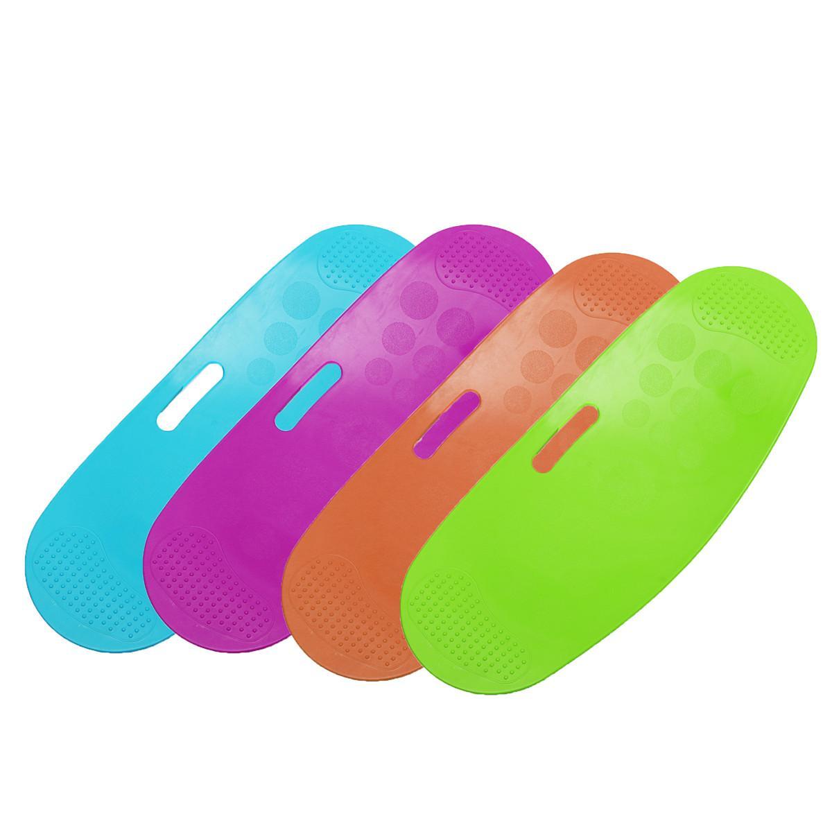 ABS Torsion Balance Fitness Board simple entraînement de base Yoga Twister muscles abdominaux Entraînement Jambes Équilibre Pad Prancha Fitness