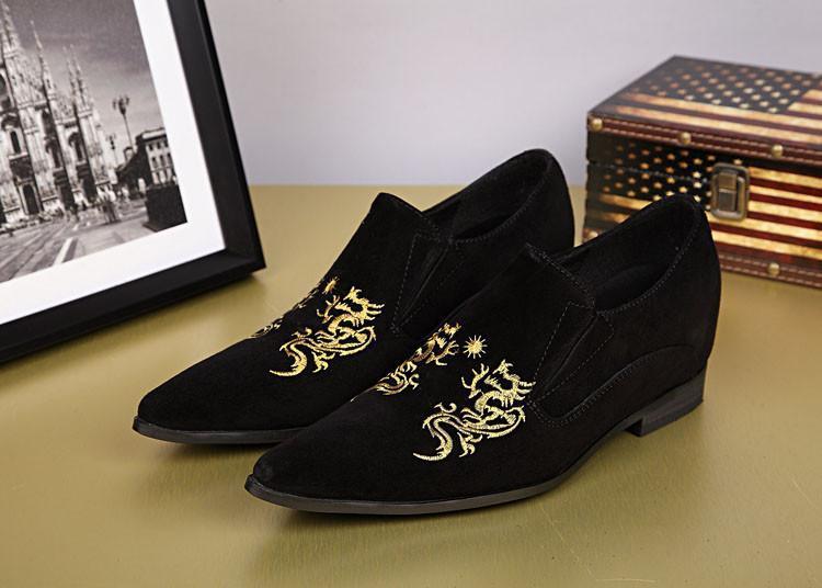 Zapatos Hombre 2019 scarpe da uomo in pelle di lusso Nero scarpe da uomo casual fatte a mano Design eccellente Scarpe da uomo! EU38-46